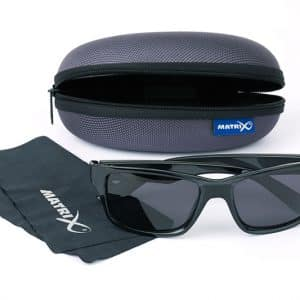 MATRIX GLASSES - CASUAL TRANS BLACK / GREY LENSE (GSN002)