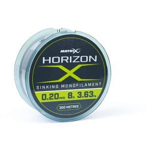 MATRIX HORIZON X SINKING MONOFILAMENT - 4LB (0.16MM) 300M (GML021)