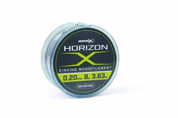 MATRIX HORIZON X SINKING MONOFILAMENT - 4LB (0.16MM) 300M (GML021)