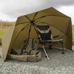"KORUM 50"" GRAPHITE BROLLY SHELTER (KMLUG/53)"