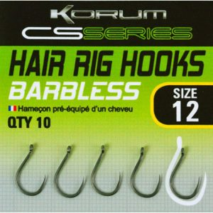 KORUM CS SERIES HAIR RIG HOOK (KHCSPB)