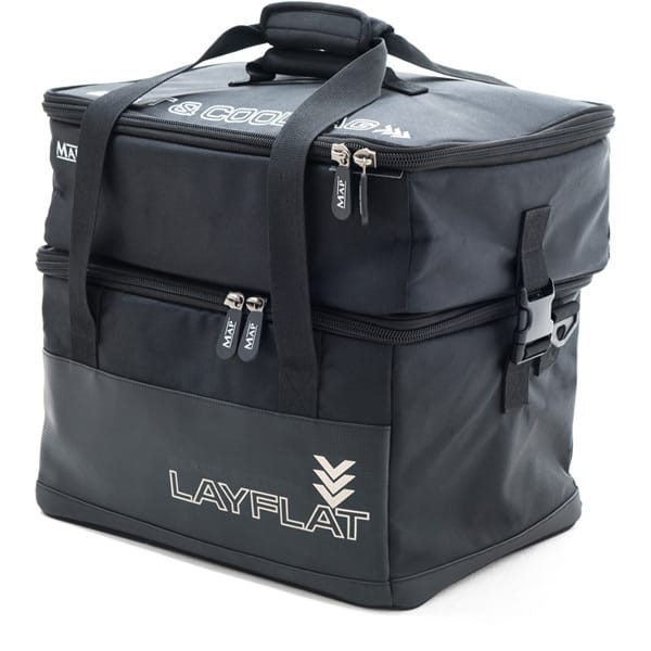 MAP PARABOLIX LAYFLAT BLACK EDITITION BAIT AND COOL BAG (H0924)