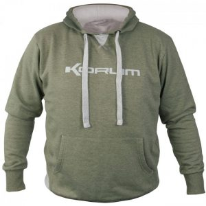KORUM HEATHER GREEN MARL HOODIES (K0350001-04)