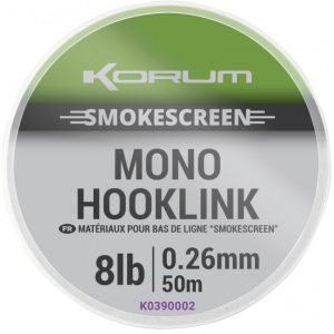 KORUM SMOKESCREEN MONO HOOKLINKS (K0390001-04)
