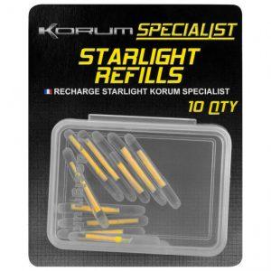 KORUM REPLACEMENT LIGHT STICKS (KXRA/34)