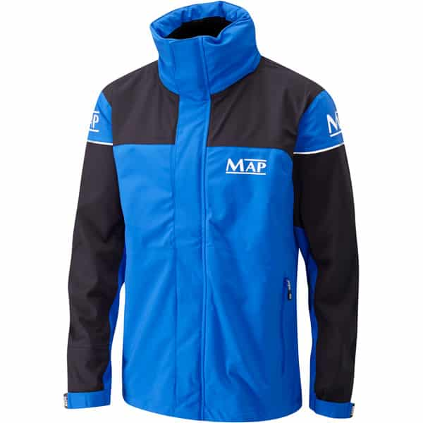 MAP 3/4 LENGTH JACKET BLUE AND BLACK (T4085-88)