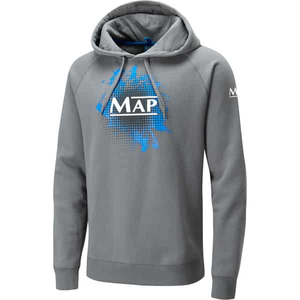 MAP SPLASH HOODY GRAY (T4109-12)