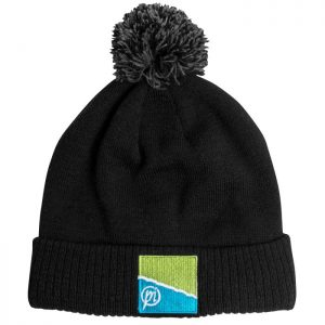 PRESTON BLACK/GREY BOBBLE HAT (P0200167)