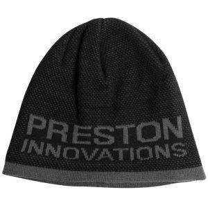 PRESTON BLACK/GREY BEANIE HAT (P0200168)