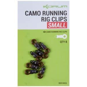 KORUM CAMO RUNNING RIG CLIPS (K0310025-26)