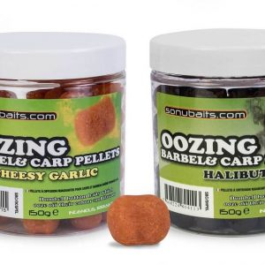 SONUBAITS OOZING BARBEL&CARP PELLETS (S0960010-12)