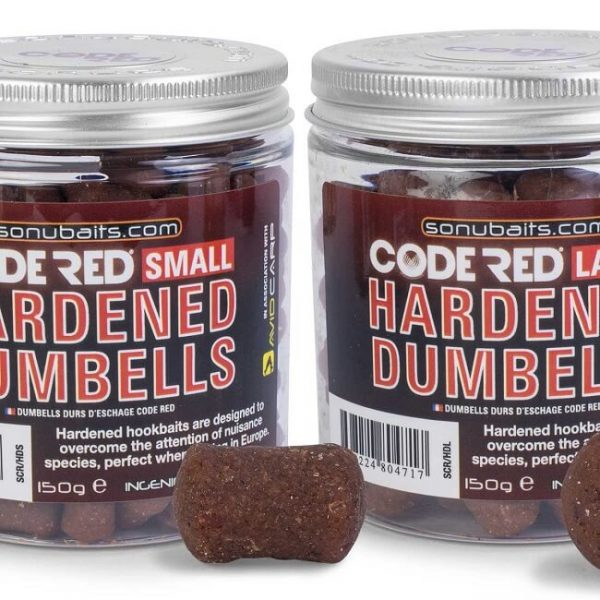 SONUBAITS CODE RED HARDENED DUMBELLS (SCR/HD)