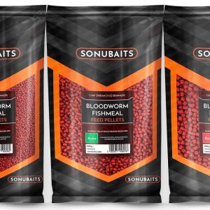 SONUBAITS BLOODWORM FISHMEAL FEED PELLETS (S0800001-28)