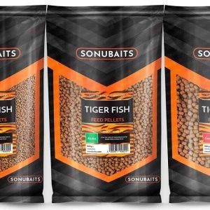 SONUBAITS TIGER FISH FEED PELLETS (S0800004-06)