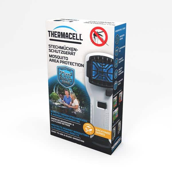 THERMACELL PORTABLE MOSQUITO REPELLER - WHITE (MR-300W)
