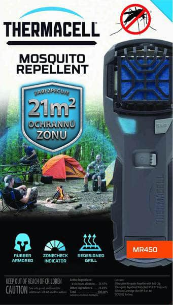 THERMACELL ARMORED PORTABLE MOSQUITO REPELLER (MR-450X)
