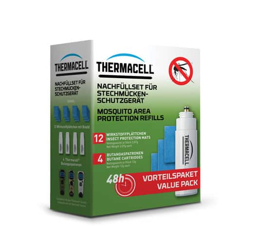 THERMACELL MOSQUITO REPELLENT REFILLS 48H (R-4)