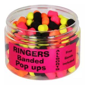 RINGERS ALLSORTS BANDED POP-UPS (PRNG27)