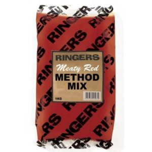 RINGERS MEATY RED METHOD MIX 1KG (PRNG30)