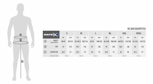 MATRIX HYDRO RS 20K SALOPETTES (GPR159-164)