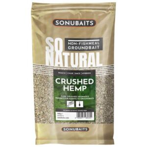 SONUBAITS SO NATURAL CRUSHED HEMPSEED 500GR (S0780012)