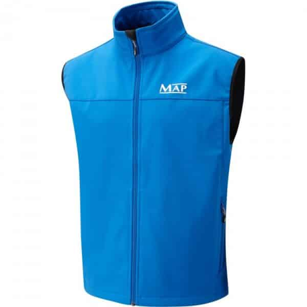 MAP SOFTSHELL GILET BLUE (T4077-80)