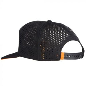 GURU RIPSTOP SNAPBACK BLACK CAP (GBC06)