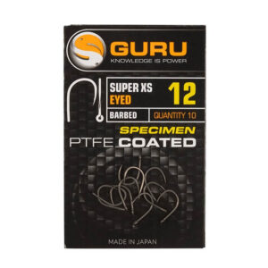GURU SUPER XS EYED BARBED HOOKS (GXSEB08-20)