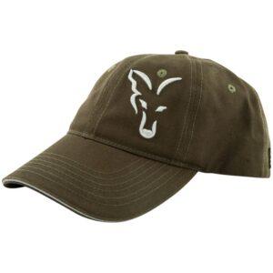 FOX COLLECTION GREEN & SILVER BASEBALL CAP (CPR996)
