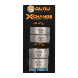 GURU X-CHANGE DISTANCE FEEDER WEIGHTS (GAD13-16)