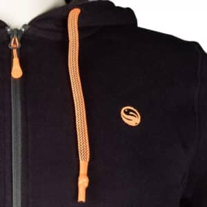 GURU ZIP UP HOODIE BLACK (GCL097-102)