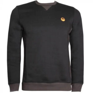 GURU CREW NECK JUMPER BLACK (GCL147-152)