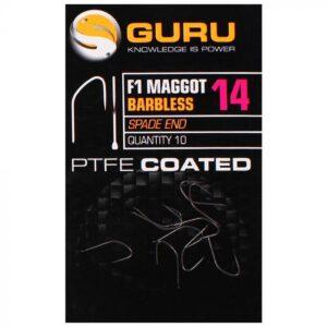 GURU F1 MAGGOT HOOKS (GF1M14-22)