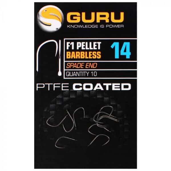 GURU F1 PELLET HOOKS (GF1P14-22)