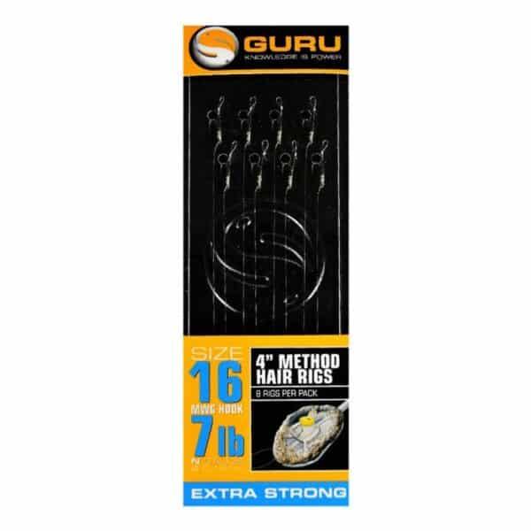 GURU METHOD HAIR RIGS 10CM (GMHR10-16)