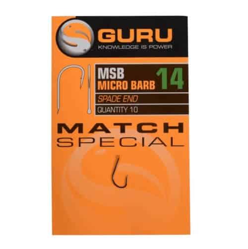 GURU MATCH SPECIAL BARBED HOOKS (GMSB10-20)