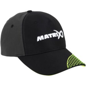 MATRIX GREY & LIME BASEBALL CAP (GPR190)