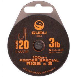 GURU LWGF FEEDER SPECIAL RIGS 100CM (GRR049-200)