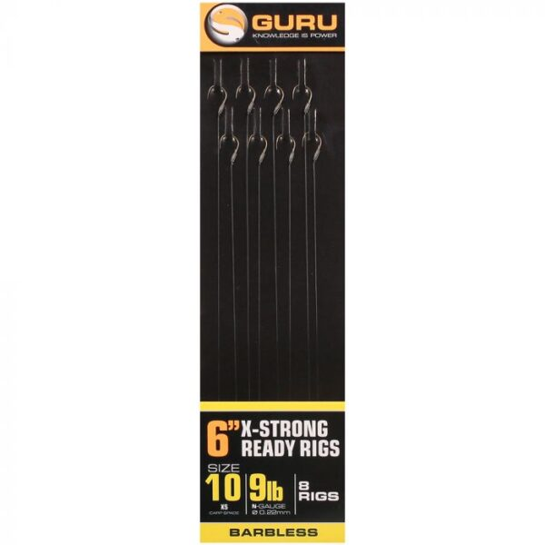 GURU X-STRONG CARP POLE RIGS 15CM (GRR065-069)