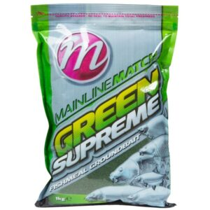 MAINLINE MATCH GREEN SUPREME FISHMEAL 1KG (MM2907)