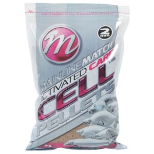 MAINLINE MATCH ACTIVATED CARP CELL PELLETS (MM3205-3208)