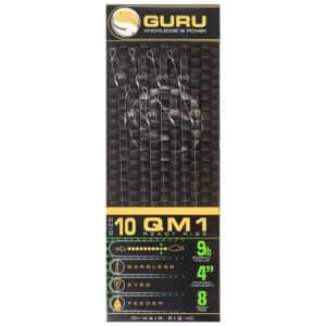 GURU QM1 STANDARD HAIR READY RIGS 10CM (GRR102-201)