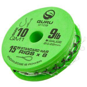 GURU QM1 STANDARD HAIR READY RIGS 38CM (GRR108-209)