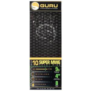 GURU SUPER MWG STANDARD HAIR READY RIGS 10CM (GRR164-202)