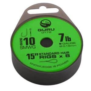 GURU SUPER MWG STANDARD HAIR READY RIGS 38CM (GRR171-206)