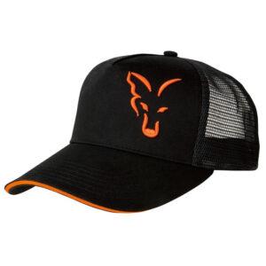 FOX COLLECTION BLACK & ORANGE TRUCKER (CPR924)